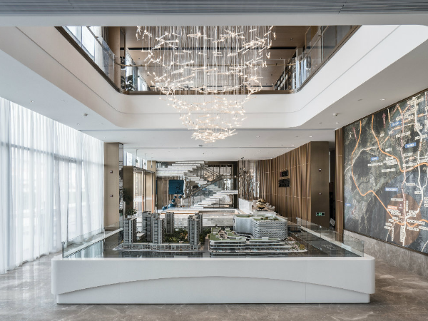 杭州城南银泰城售楼处:在平行世界塑造未来