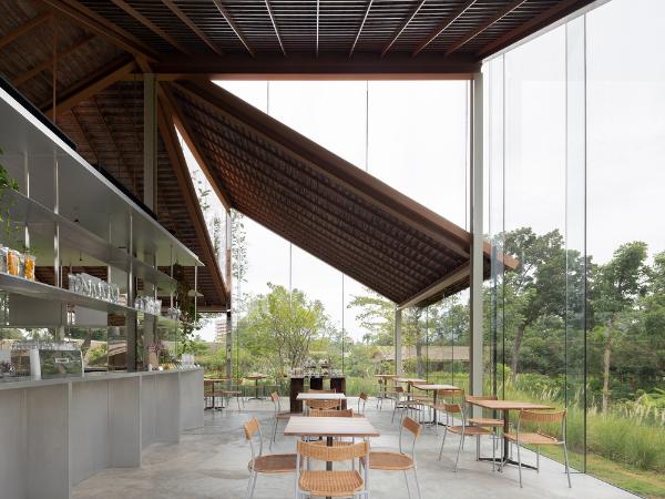 NITAPROW设计,泰国Patom简约咖啡馆