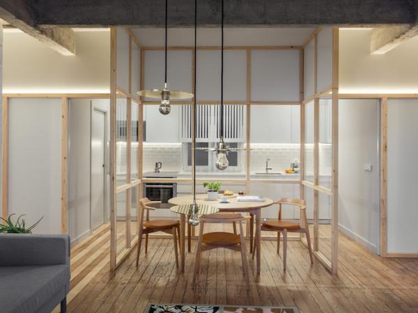 西班牙 30 坪清新感现代住宅