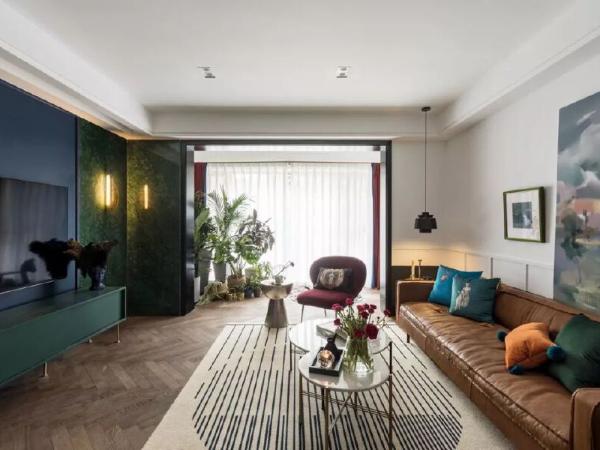 130㎡现代轻奢风住宅,清新优雅