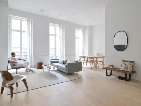 现代简约风公寓,让设计变得简单一点
