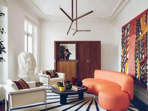 现代艺术体现到家居设计中