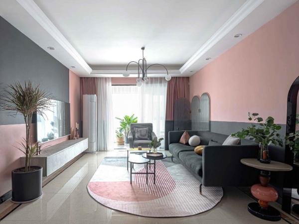 90㎡现代简约住宅,精致优雅的家