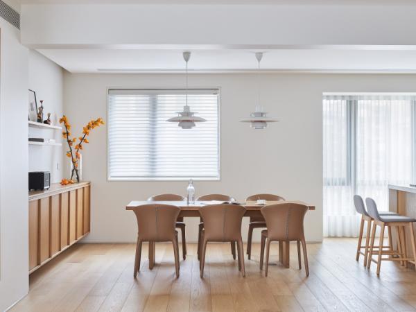 188㎡原木治愈系住宅,享受自由舒适的慢生活