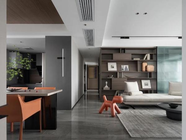168平米四口之家,改善性住宅为小朋友打造更好的生活空间