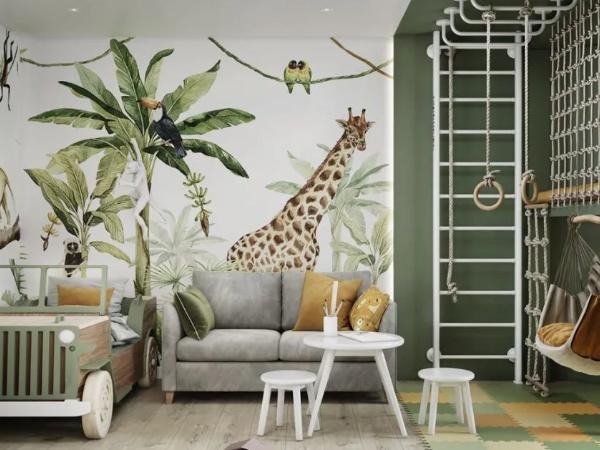 自然朴实的公寓,儿童房就像游乐场