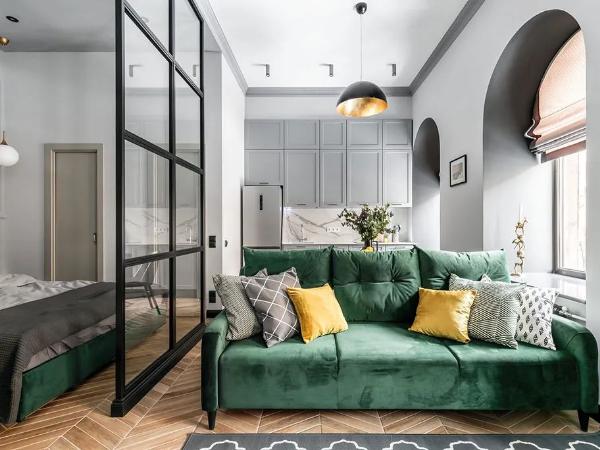 35㎡单身公寓:房子是租的,生活是自己的