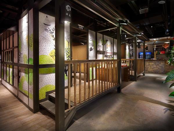 餐饮空间设计「艺鼎设计」送你一张重庆火锅的明信片