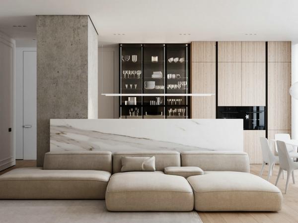 北欧遇上工业元素,140㎡质感极简的家