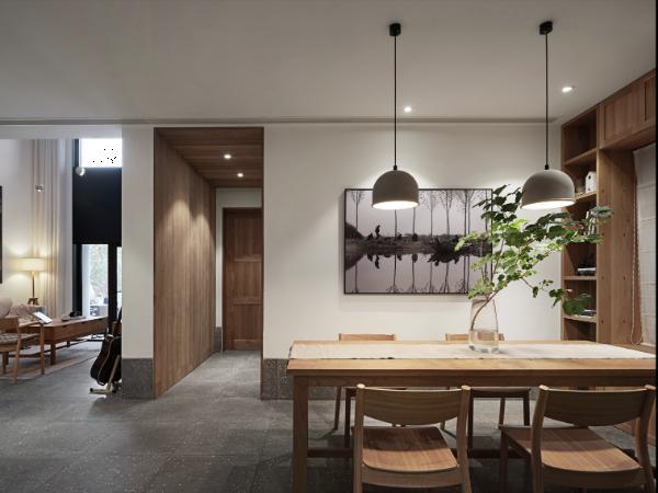 210m²温润木色别墅,朴质淡雅让人惊艳!