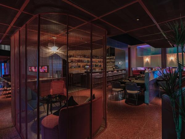 醉东餐厅海鲜西餐厅装修效果图