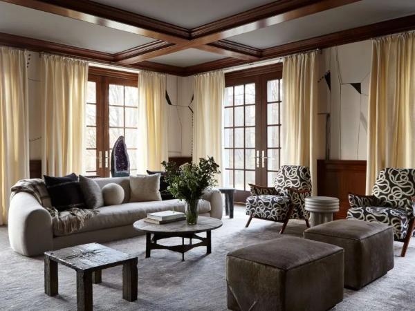 优雅、舒适回归居住的空间