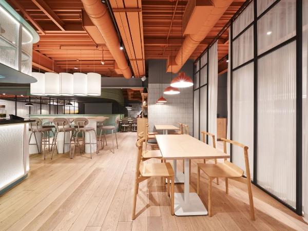 泛亚餐厅现代的潮流和形象