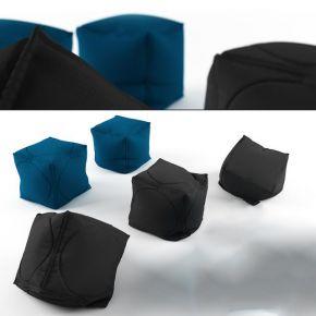 现代布艺沙发凳子