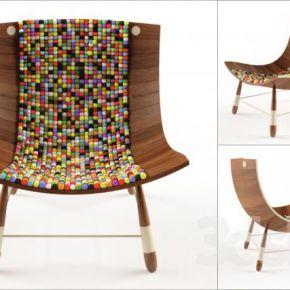 现代实木椅子