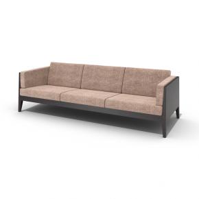 现代布艺三人沙发3d模型下载