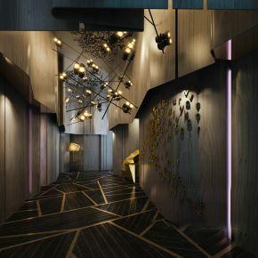 商业空间展厅通道