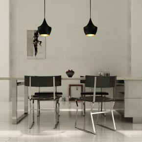 后现代简约餐桌椅组合