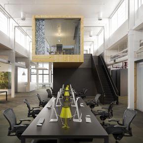 工业风格办公区