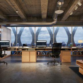 工业风格办公室