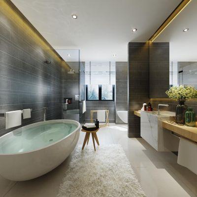 现代风格卫浴