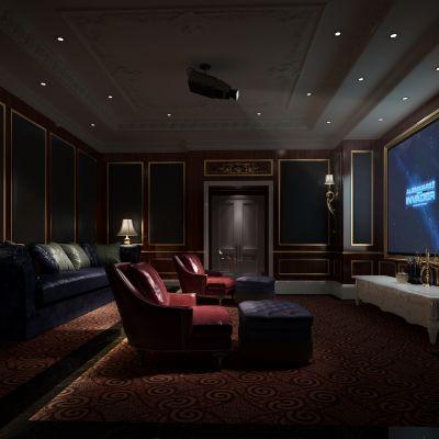 欧式私人电影院