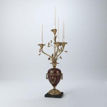 欧式风格金属烛台饰品摆件