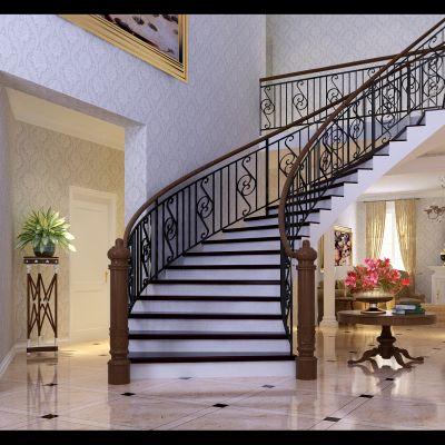 欧式风格楼梯过道
