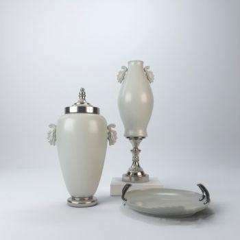 欧式风格金属陶瓷饰品摆件