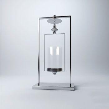 现代风格金属玻璃饰品摆件