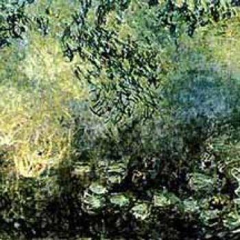 莫奈油画作品装饰画