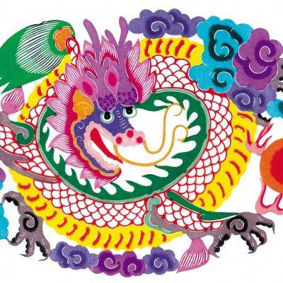 中式吉祥元素挂画