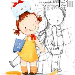 儿童趣味卡通风格装饰画