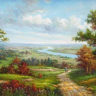 西方油画大师作品装饰画