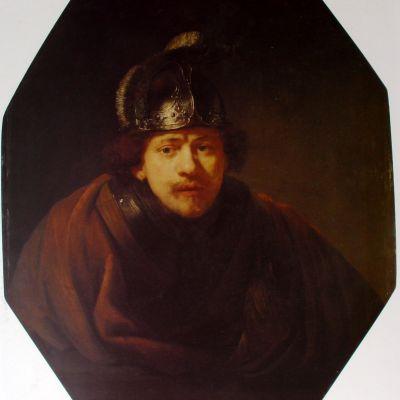 伦勃朗油画作品装饰画