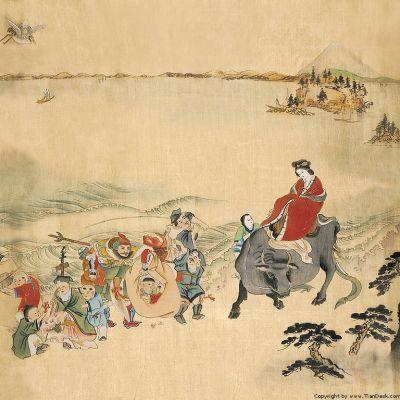 中国古典古代人物画