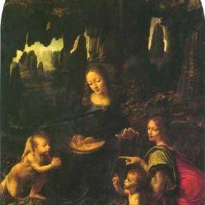 达芬奇油画作品
