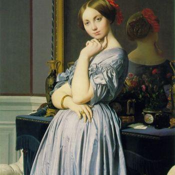 油画安格尔大师作品