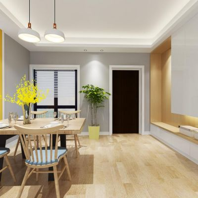 客厅餐厅3D模型