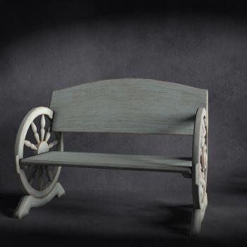 北欧风格实木户外椅
