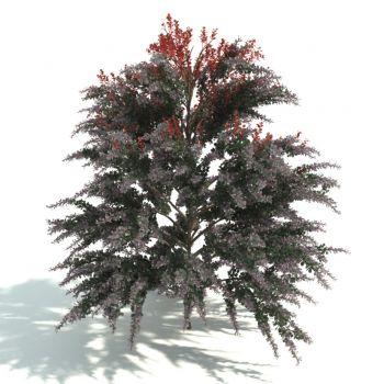 现代风格树