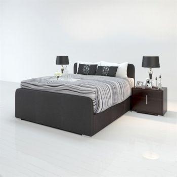 现代风格双人床