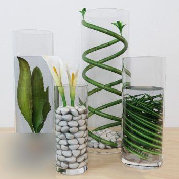 现代陈设饰品花瓶花卉