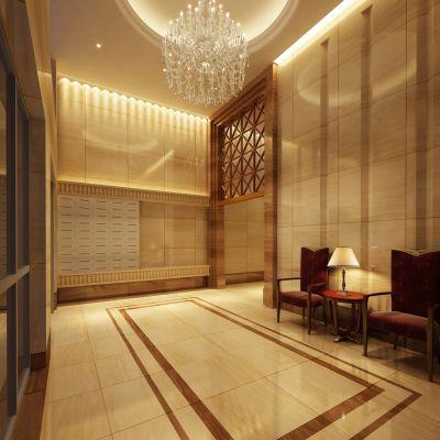 现代风格走廊3D模型