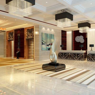 现代风格酒店大厅