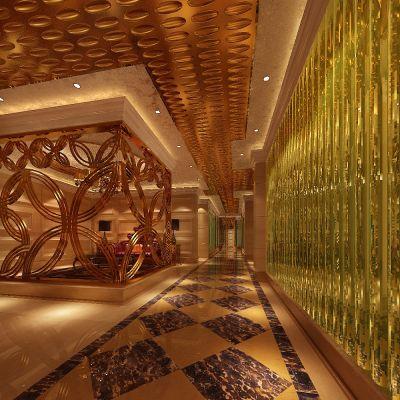 现代风格走廊
