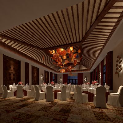中式风格宴会厅