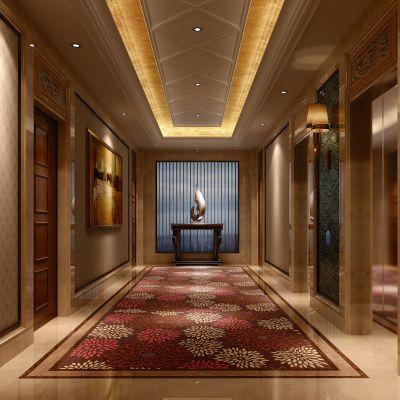 欧式风格电梯厅