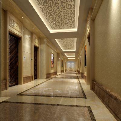 欧式风格走廊