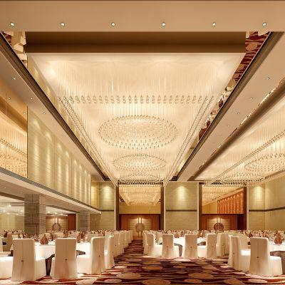 现代风格宴会厅